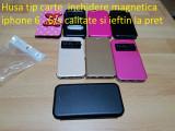 Husa tip carte  inchidere magnetica iphone 6 ..6/s calitate si ieftin la pret