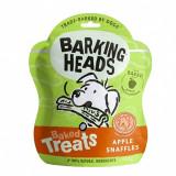 Cumpara ieftin Barking Heads Baked Treats Apple Snaffles 100 g