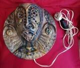 Aplica Ceramica Veioza de perete România anii 80 realizata manual