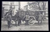 LAUSEABWEHRKANONE - ST. HILAIRE LE PETIT , SOLDATI IN PRIMUL RAZBOI MONDIAL , CARTE POSTALA ILUSTRATA , MONOCROMA , CIRCULATA , DATATA 1915
