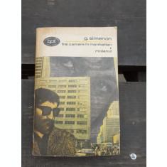 TREI CAMERE IN MANHATTAN, MOTANUL - G. SIMENON