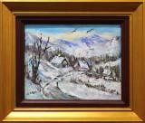 Tablou `Peisaj de iarnă`