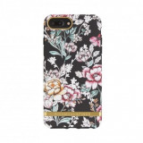 Husa fashion Richmond and Finch Freedom 360 iPhone 6/7/8 Plus Black Floral