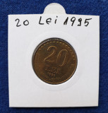 Moneda   20 Lei 1995 -  stare foarte buna - piesa superba - luciu