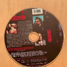 Film DVD - Carlito's way, Romana