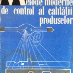 Metode moderne de control al calitatii produselor