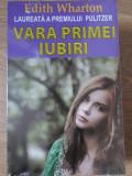 VARA PRIMEI IUBIRI-EDITH WHARTON
