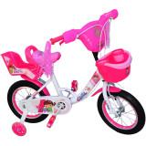 Bicicleta fete Girl cu leduri si muzica 14 inch