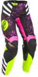 Cumpara ieftin Pantaloni cross enduro FLY RACING KINETIC culoare roz, marime 06