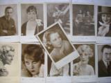 Lot Carte Postala actori anii '30-2