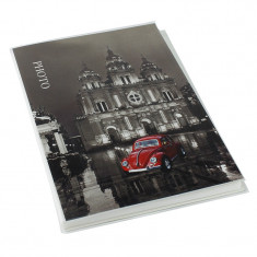 Album foto Old Time Cathedral, personalizabil, 10x15, 36 poze, negru