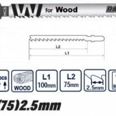 Set panze lemn fierestrau pendular 2Buc, Raider