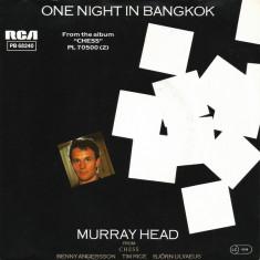 "Murray Head - One Night In Bangkok (1984, RCA) Disc vinil single 7"""