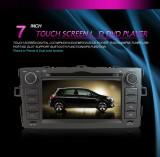 Navigatie dedicata Toyota Auris , Edotec EDT-8400 Dvd Auto Multimedia Gps Navigatie Tv Bluetooth Toyota Auris - NDT66636