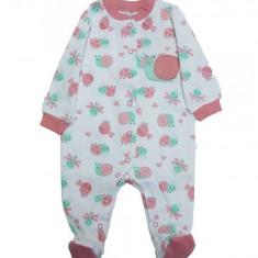 Salopeta / Pijama bebe cu melci & broscute Z48