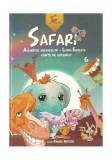 Cumpara ieftin Safari. Alfabetul animalelor - limba engleză. Carte de colorat