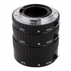 Tuburi de extensie macro Meike MK-S-AF1 cu Auto focus pentru Sony Alpha