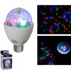 BEC LED RGB 3W E27/230V CAP ROTATIV