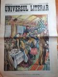 ziarul universul literar 31 decembrie 1907-art. carol 1,nr. de anul nou