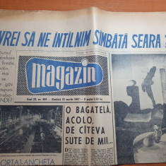 magazin 25 martie 1967-art. si foto orasul bucuresti,in atelierul lui brancusi
