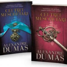 Pachet Cei trei mușchetari (2 volume)