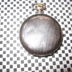 ceas de buzunar vechi anker defect pare de argint 800 g1
