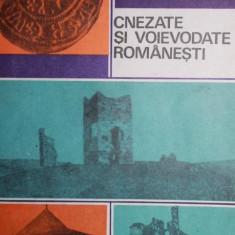 CNEZATE SI VOIEVODATE ROMANESTI - SERGIU COLUMBEANU