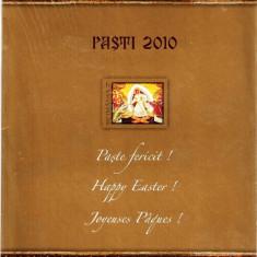 ROMANIA 2010 - MAPA FILATELICA - PASTI- LP 1858 b