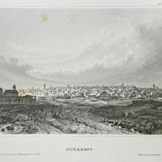 Bucuresti - Gravura sec. 19