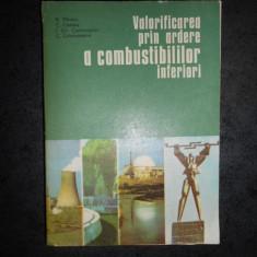 N. PANOIU - VALORIFICAREA PRIN ARDERE A COMBUSTIBILILOR INFERIORI