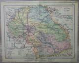 Harta interbelica judetul Ilfov// 1931