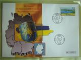 Cartela Telefonica + FDC Germania Mecklenburgische-Seenplate - Exponat Numerotat