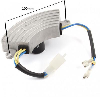 Regulator tensiune (AVR) generatoare 2.5kw - metal foto