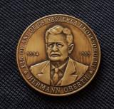 Medalie Hermann Oberth - Cosmonautica - Aviatie