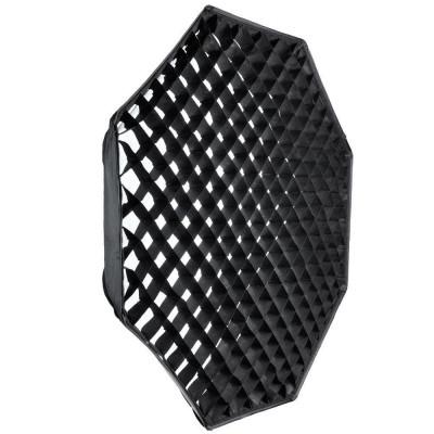 Grid honeycomb softbox octogonal octobox 140cm foto