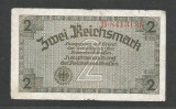 GERMANIA  NAZISTA  2 MARCI  REICHSMARK  1940 [28]  P- 137a , 7 cifre  , Litera B
