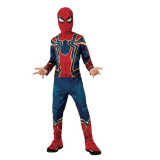 Costum Deluxe Iron Spiderman , Avengers End Game, L, 8 - 10 ani