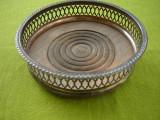 Suport argintat pentru vaze