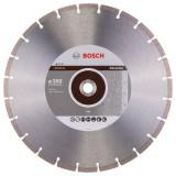 Bosch Professional disc diamantat 350x20/25.4x2.8x10 mm pentru materiale abrazive