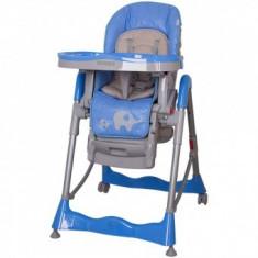 Scaun de masa pentru bebe Coto Baby Mambo Blue