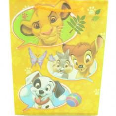 Punga pentru cadouri Personaje Disney PCPD-1, Galben