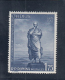ROMANIA 1957  LP 440 - 2000 ANI DE LA NASTEREA LUI OVIDIU   MNH