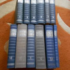 FLORA REPUBLICII - 12 VOLUME ( 1-13 ; FARA 8 )