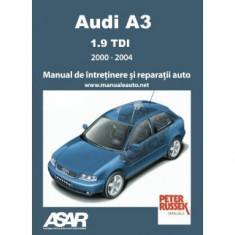 Manual Audi A3 - 1.9 TDi (2000-2004)