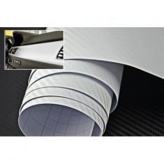 Folie carbon 3d Alba dimensiuni 127cm x 100cm