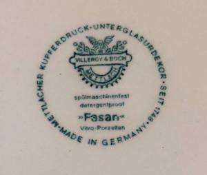 Platou pentru tort - Villeroy an Boch - Fasan