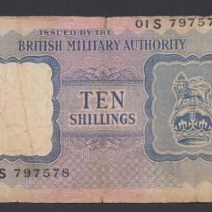 A1792 Anglia UK 10 shillings 1943