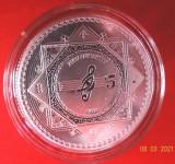 Moneda 1oz 31grame necirculata Argint pur 999, 5$ capsula Vivat Humanitas 2021 !