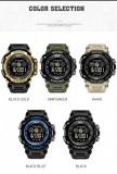 Sport Smartwatch Ceas Inteligent Smael V8 WaterResist 50M Shock Resistant,NOI, Ceramica, 42mm