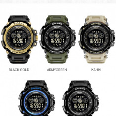 Sport Smartwatch Ceas Inteligent Smael V8 WaterResist 50M Shock Resistant,NOI